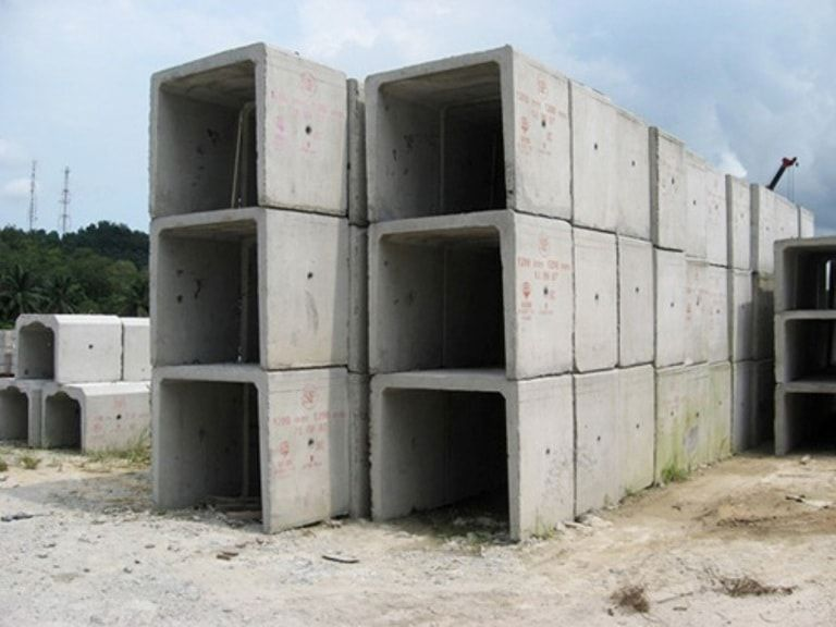 Box culvert with cover 10T capacity