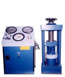 Compression Testing Machine - 2000 KN, Electric Operated, Channel type Triple Guage