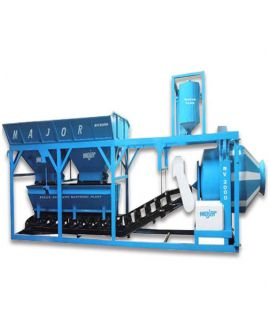 Automatic Mini Mobile Batching Plant 10 cum-hr
