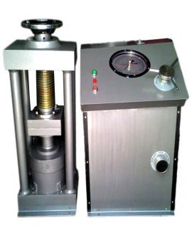 Compression Testing Machine - 1500 KN, Electric Operated, 4 Pillar type Single Guage