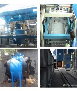 ALC Plant Steam Curing Automatic - 30m3
