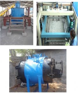 ALC Plant Steam Curing Semi Auto - 30m3