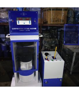 Compression Testing Machine - 2000 KN, Digital Operated, Plate Type