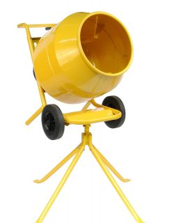 Concrete Mixer with Stand - 120 Ltr