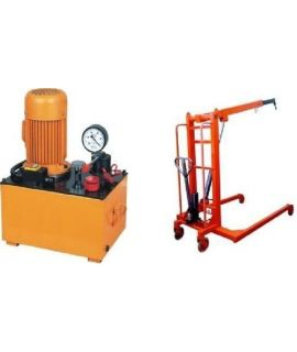 Mobile Floor Crane 2 Tone Electric