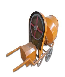 Half Bag Concrete Mixer - Electric Op.