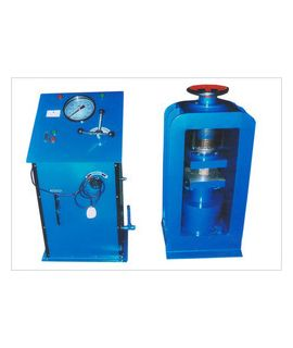 Compression Testing Machine - 1000 KN, Electric Operated, Channel type Single Guage