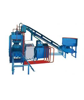 Automatic fly ash brick machine 70 tonnage