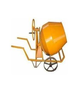 Half Bag Concrete Mixer Hand Operated Non Tilting Type