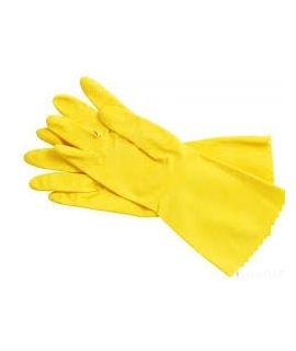 Hand Gloves - Yellow Color