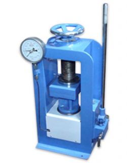Compression Testing Machine - 1500 KN, Hand Operated, Channel type