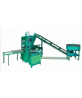 Semi -Automatic fly ash brick machine 40 tonnage
