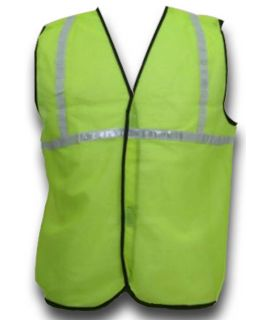 Reflective Jacket with 1 Inch Tape (Green)