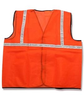 Reflective Jacket with 1 Inch Tape (Orange)