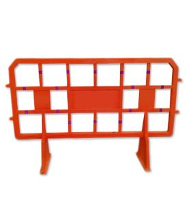 Fence Barrier - 2(L) x 1.2(H) x 0.5(W) Meter (Red)