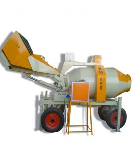 Mini Mobile Batching Plant 8-10 cum -hr