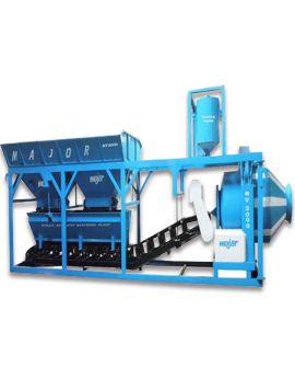 Automatic Mini Mobile Batching Plant 15 cum-hr