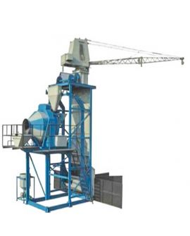 Automatic Mobile Batching Plant 30 cum-hr Pit Type