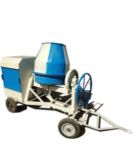 Full Bag Concrete Mixer without Hopper -Diesel Operated