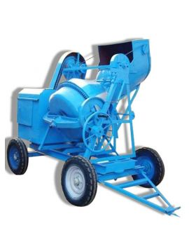 Full Bag Concrete Mixer with Mechanical Hopper-Electric operated