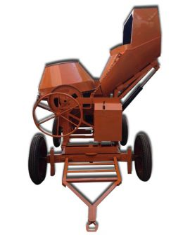 Hydraulic Concrete Mixer with Hopper-Diesel Operated